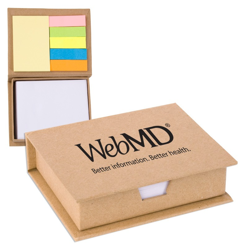 Eco Recycled Sticky Note Memo Case
